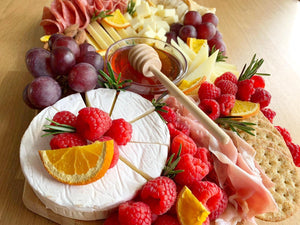 overwood, edible gifts, platters, cheese platters