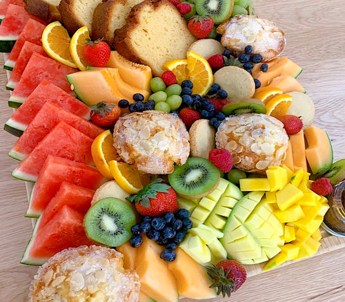 corporate catering, catering, fruit arrangements, fresh fruits, kiwi, mango, fruit salad