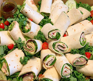 corporate catering, wraps, catering, overwood
