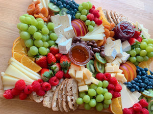 party platter, cheese board, cheese platter, cheese catering, overwood