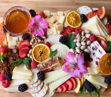 Load image into Gallery viewer, mother's day gift, gifts, edible gifts, edible arrangements, cheese platter