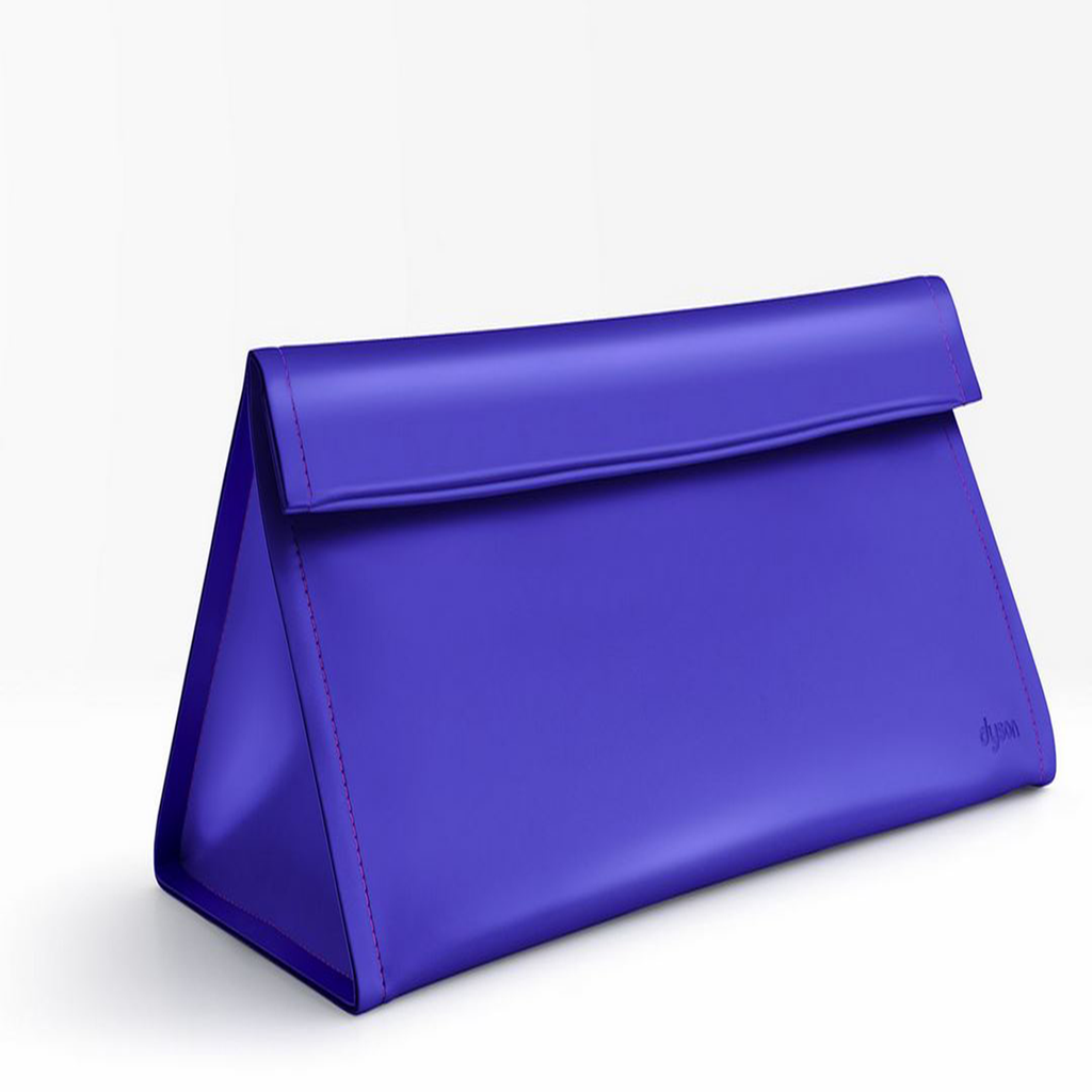 Cobalt blue storage bag