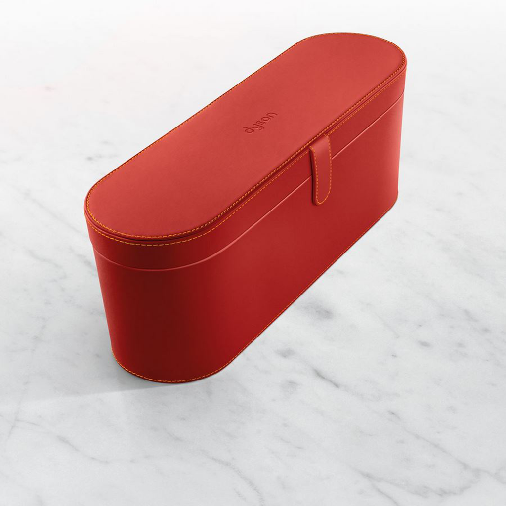 Red presentation case