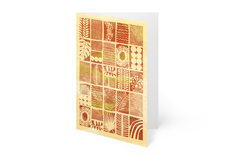 ALL OCCASION GREETING CARDS (Pack of 8, 4 Designs)