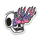 SEEING FLAMES Sticker