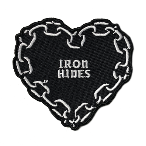 Heart of Chains - Embroidered Patch