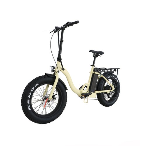 Mini Step Thru Fat Tire Folding Bike