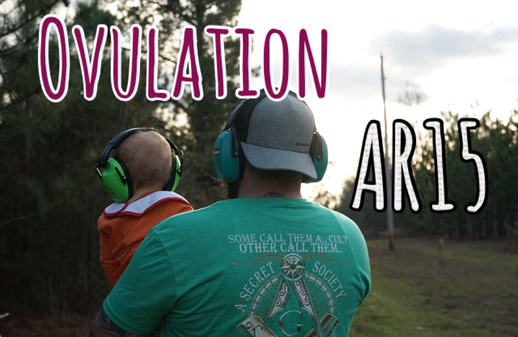 Here's what an ovulation looks like, breeding tip, and Craig gets his AR15 back!!