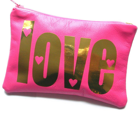 Personalized Hearts Love Coin Purse - bambinadicioccolato