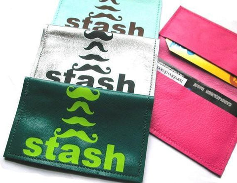Stash Leather Business Card Holder - bambinadicioccolato