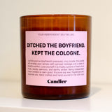 DITCHED THE BOYFRIEND. KEPT THE COLOGNE CANDLE - bambinadicioccolato