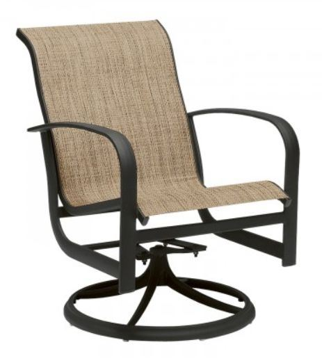 Woodard Fremont Swivel Rocker Dining