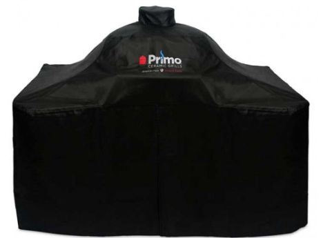 Primo Grill Cover-oval XL 400 With Teak Table