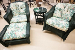 Refurbished 4 Piece Green Lloyd Flanders Set