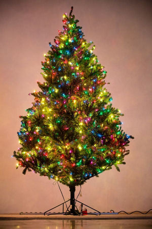 Holiday Bright Lights 9' Natural Fraser Fir Medium