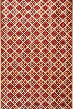 Mad Mats Scotch-cranberry 6'x9'