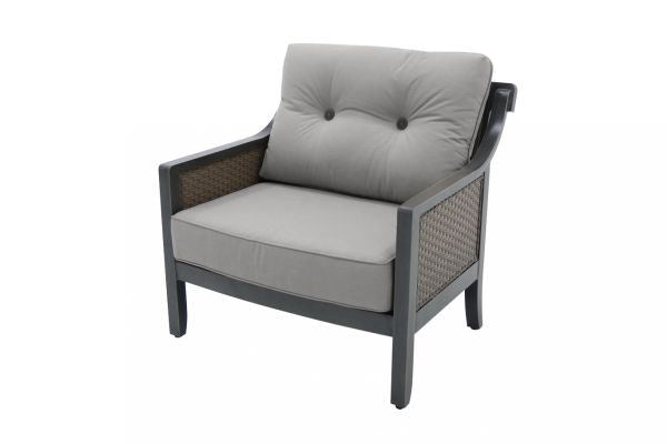 Portica Belize Wicker Cuddle Chair By Sunvilla