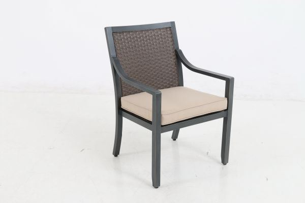 Portica Belize Wicker Dining Chair By Sunvilla