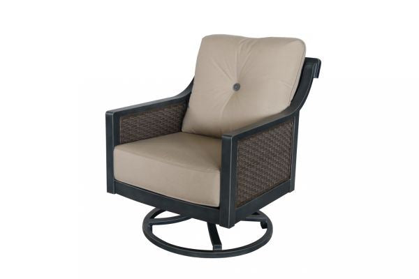 Portica Belize Wicker Swivel Lounge By Sunvilla