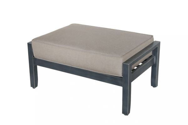 Portica Belize Wicker Ottoman By Sunvilla