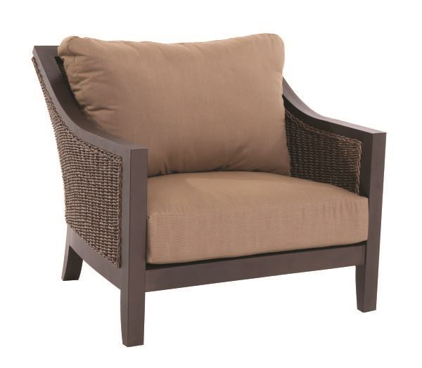 Portica Biscay Wicker Cuddle Chair By Sunvilla