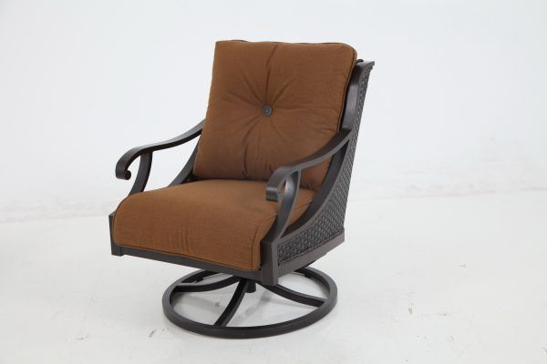 Portica Somerset Wicker Swivel Lounge By Sunvilla