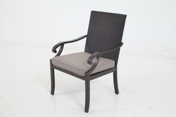 Portica Somerset Wicker Dining Chair By Sunvilla