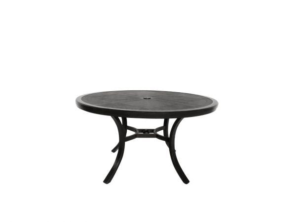 Portica Fauxwood Round Dining Table By Sunvilla By Sunvilla