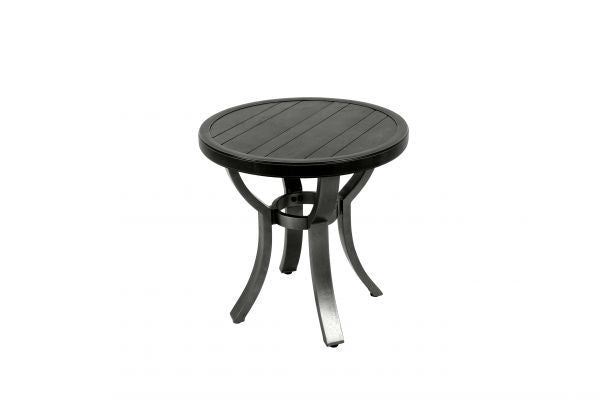 Portica Wood Grain End Table By Sunvilla