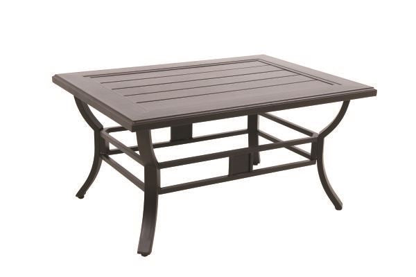 Portica Center Ring Slat Coffee Table By Sunvilla