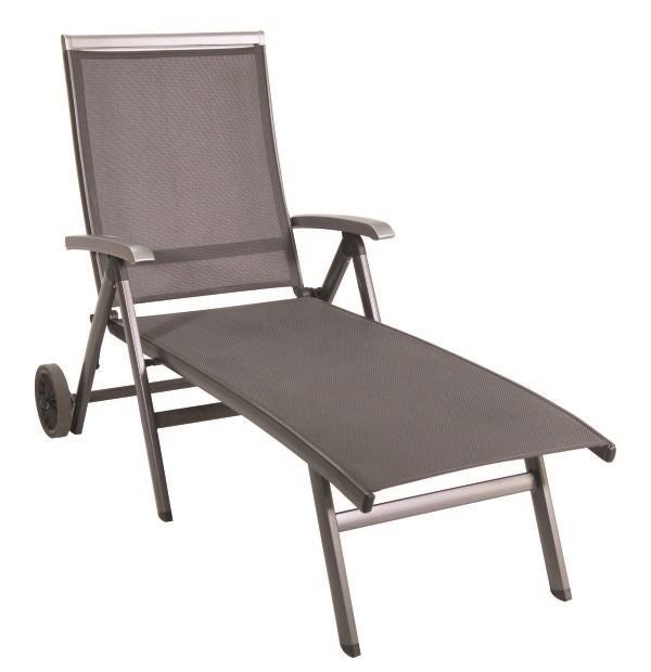 Portica Bristol Sling Wheeled Chaise By Sunvilla