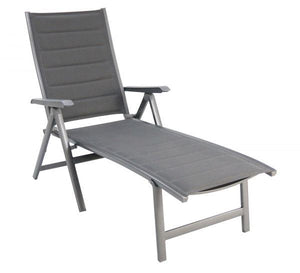 Portica Madrid Sling Folding Chaise By Sunvilla