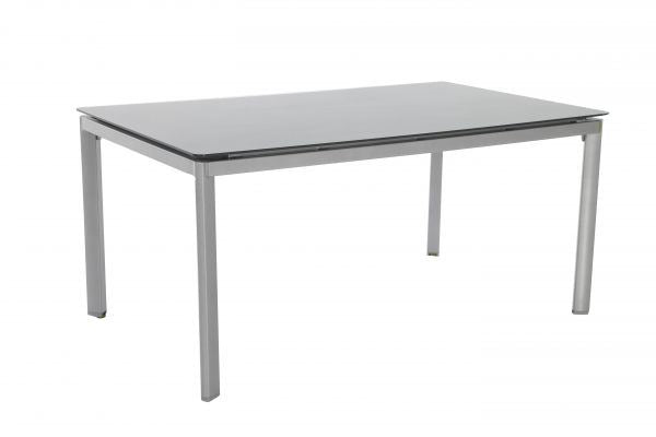 Portica Aluminum Rectangular Table With Glass Top By Sunvilla