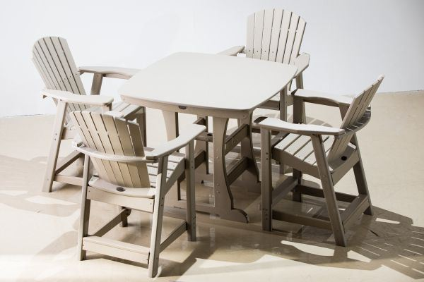 Perfect Choice 5 Piece Counter Height Dining Set