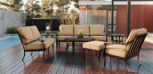 Elements York 5 Piece Deep Seating Set By Castelle