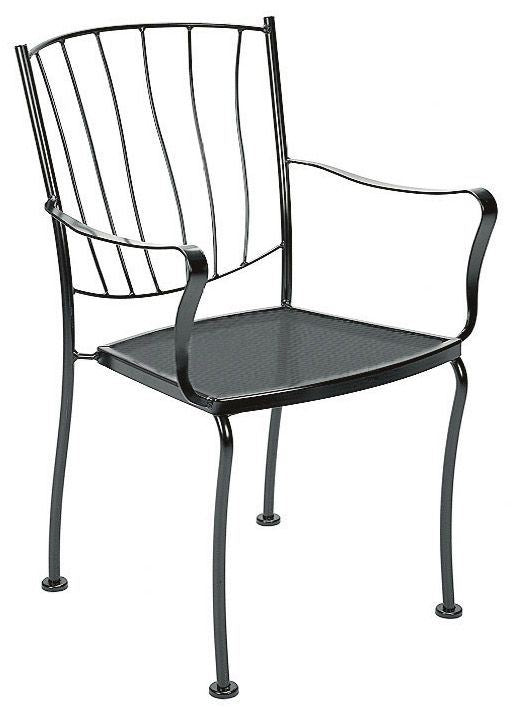 Woodard Aurora Stackable Dining Arm Chair