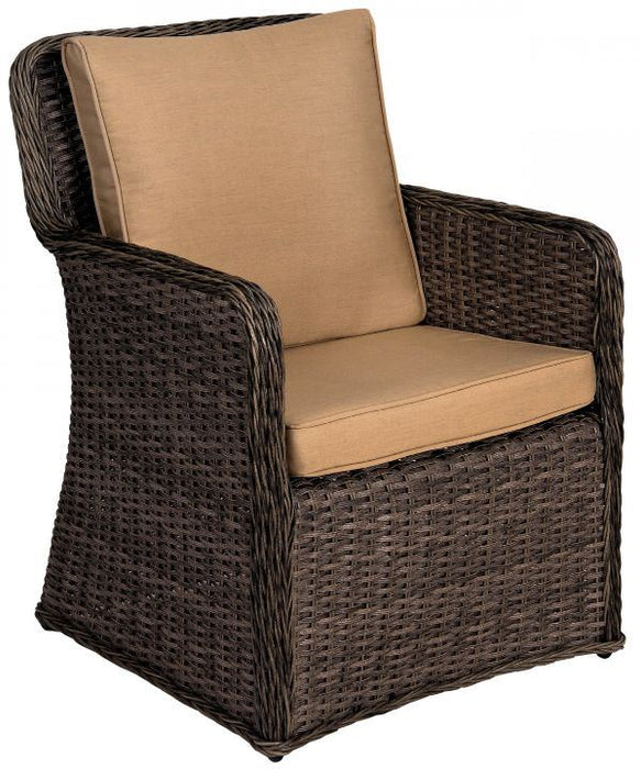 Woodard Bay Shore Dining Arm Chair
