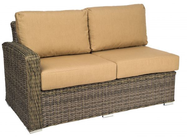 Woodard Bay Shore Laf Sectional Love Seat