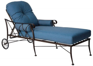 Woodard Derby Adjustable Chaise Lounge