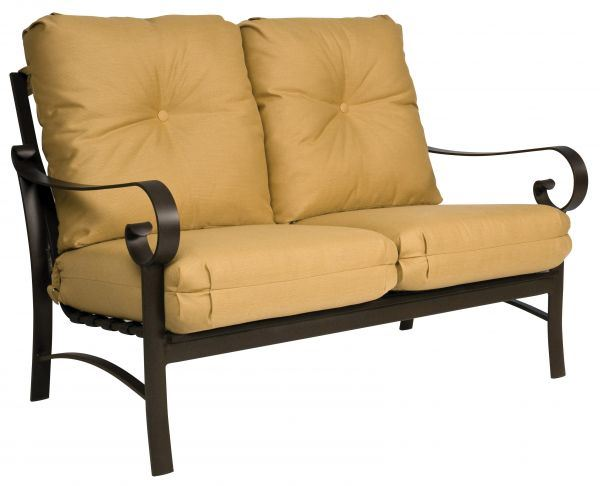 Woodard Belden Cushion Love Seat