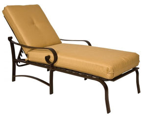 Woodard Belden  Cushion Adjustable Chaise Lounge