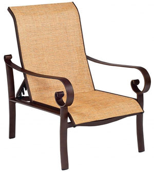 Woodard Belden Sling Adjustable Lounge Chair