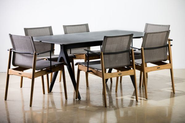 "Gloster 7piece 67"" Split Dining Set"