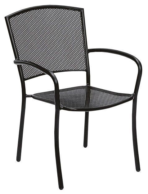 Woodard Albion Arm Chair - Stackable