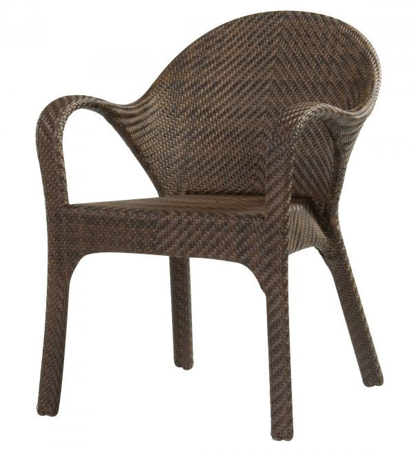 Woodard Bali Small Dining Chair