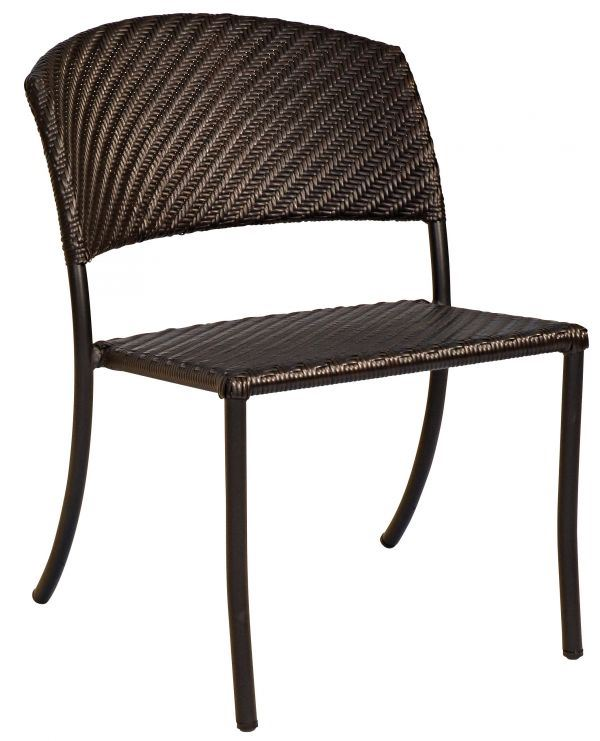 Woodard Barlow Dining Side Chair - Stackable