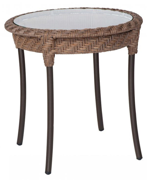 Woodard Barlow Round End Table