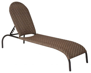 Woodard Barlow Adjustable Chaise Lounge - Stackable