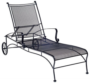 Woodard Bradford Adjustable Chaise Lounge