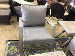 5 PC Grey Patio Set - $1627 compared to $3499